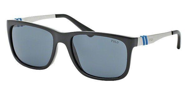 Polo Herren Sonnenbrille » PH4088« in 500187 - schwarz/ blau