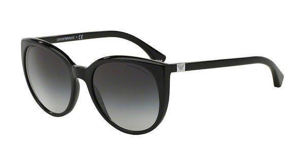 Emporio Armani Damen Sonnenbrille » EA4043« in 50178G - schwarz/grau