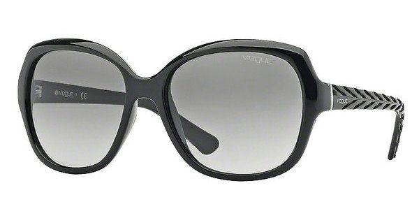 Vogue VO2871S Sonnenbrille Schwarz W44/11 56mm h7ZP9muIVB
