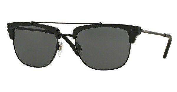 BURBERRY Burberry Herren Sonnenbrille » BE4202Q«, schwarz, 30015V - schwarz/grau