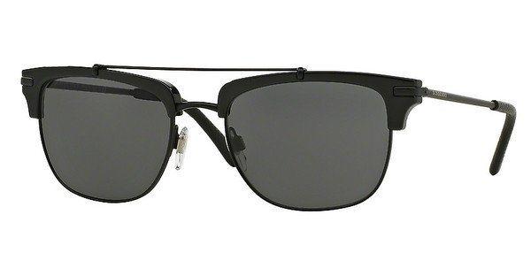 Burberry Herren Sonnenbrille » BE4202Q« in 30015V - schwarz/grau