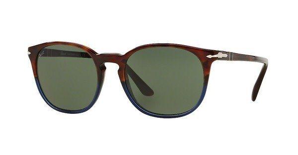 Persol Herren Sonnenbrille » PO3007S« in 102231 - braun/grün
