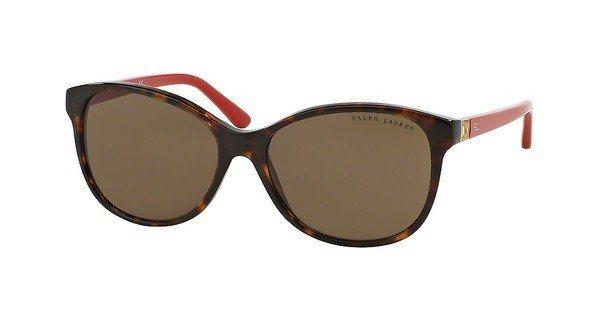 Ralph Lauren Damen Sonnenbrille »DECO EVOLUTION RL8116« in 500373 - braun/braun