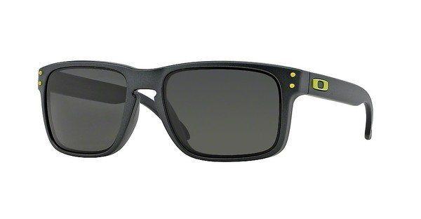Oakley Herren Sonnenbrille »HOLBROOK OO9102« in 910238 - grau/grün