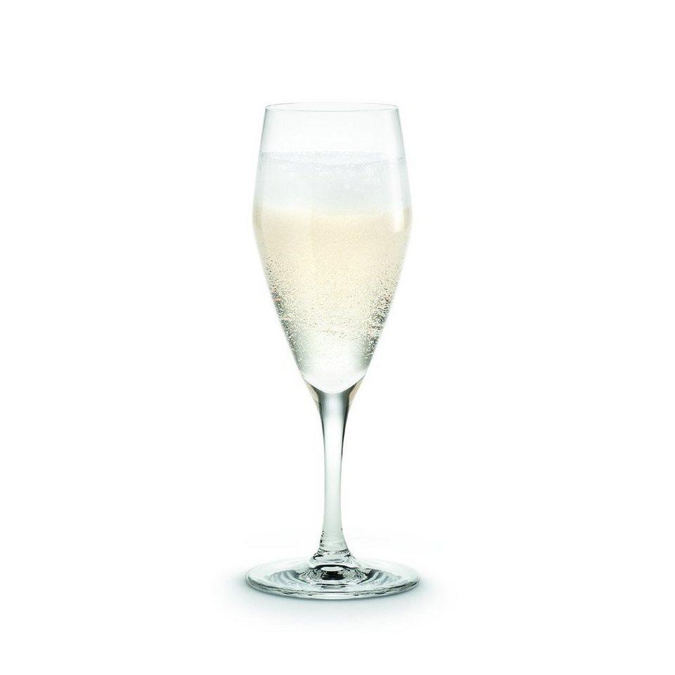 HOLMEGAARD HOLMEGAARD Champagneglas Perfection 12.5 cl in Rauchig-Transparent