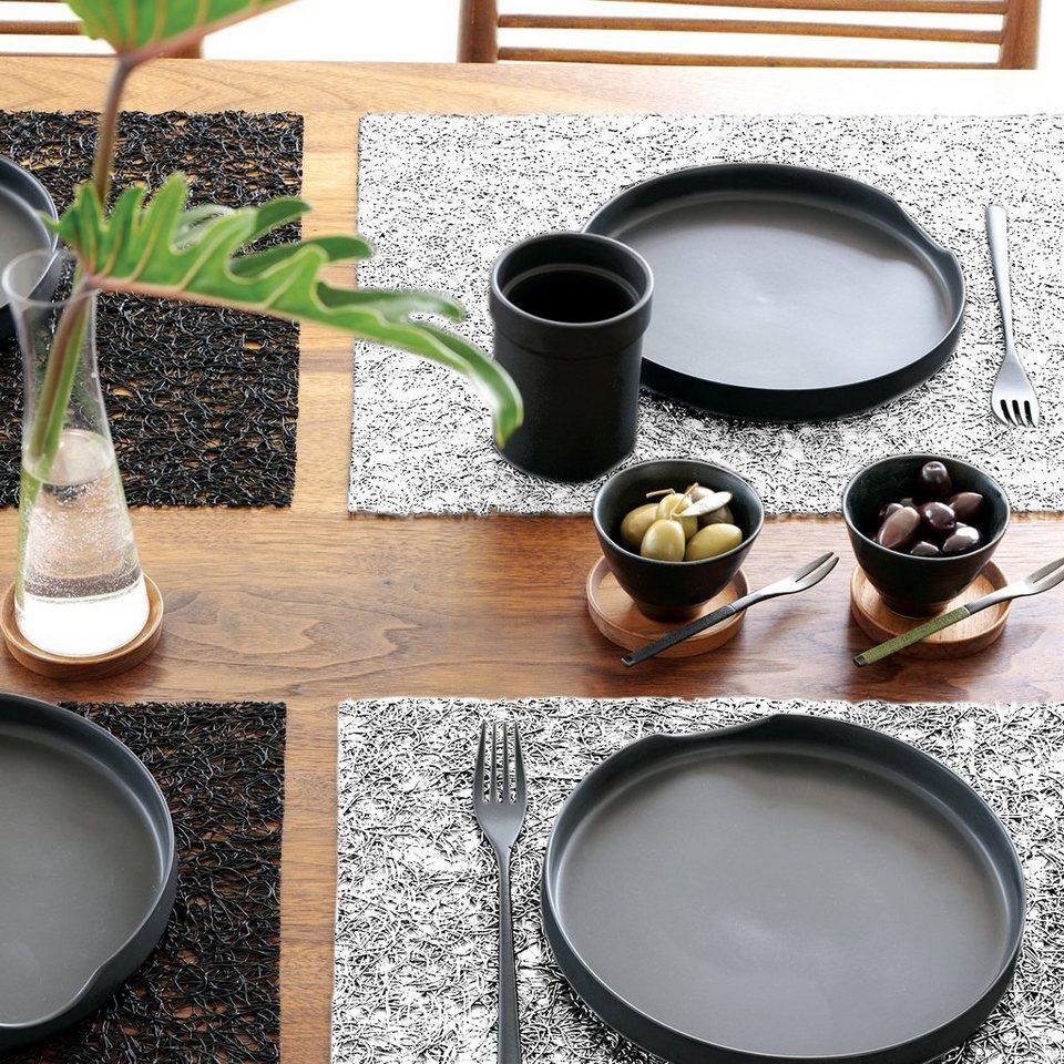 CHILEWICH Chilewich Tischset SPUN weiß - 2er Set in weiß