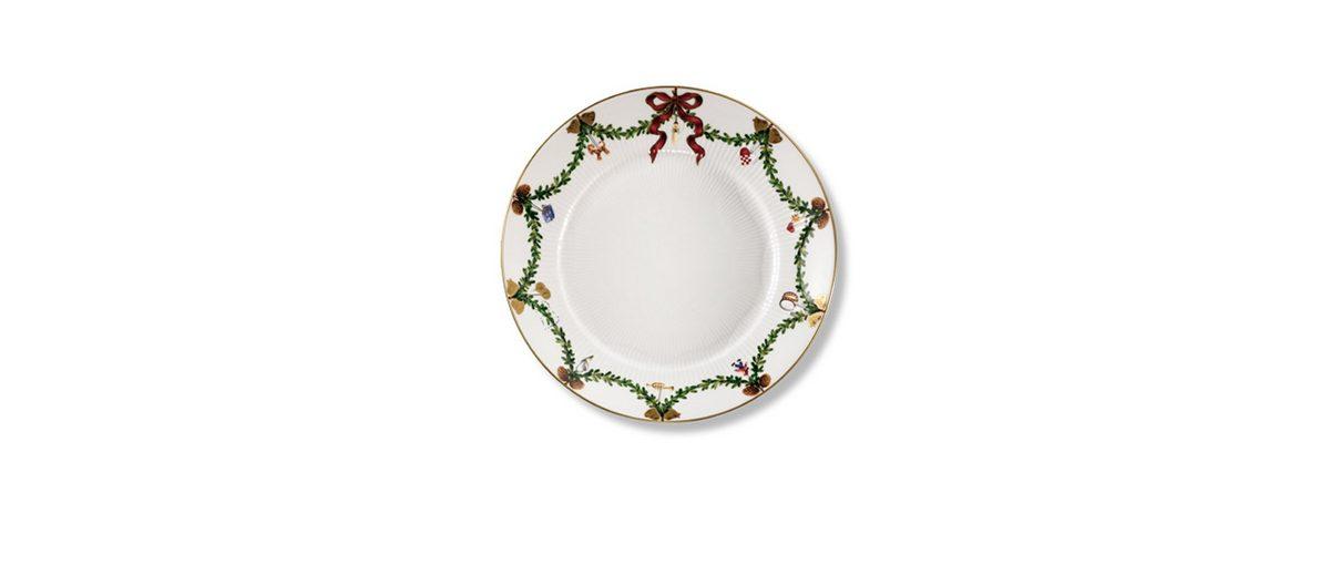ROYAL COPENHAGEN ROYAL COPENHAGEN Teller, flach Star Fluted Christmas 22 cm