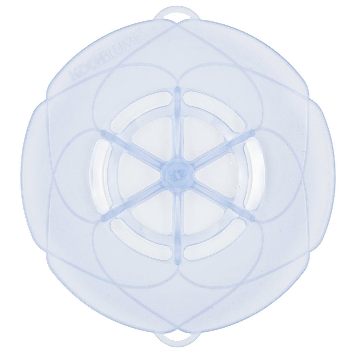 Kochblume Kochblume Überkochschutz eisblau 25.5 cm
