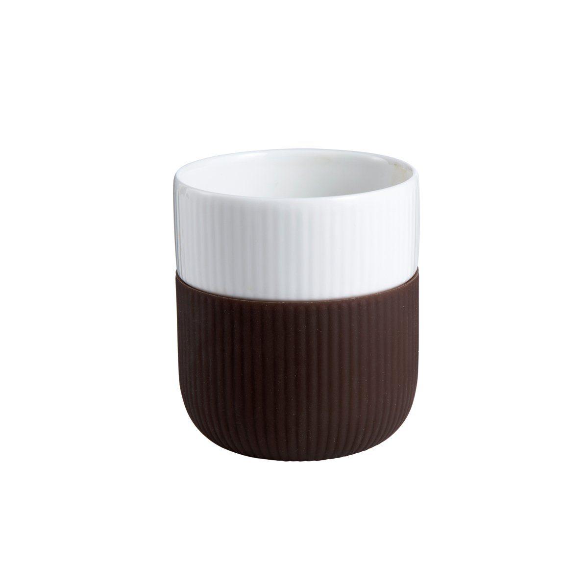 ROYAL COPENHAGEN Royal Copenhagen FUNCTION Contrast Becher 33cl schokolade