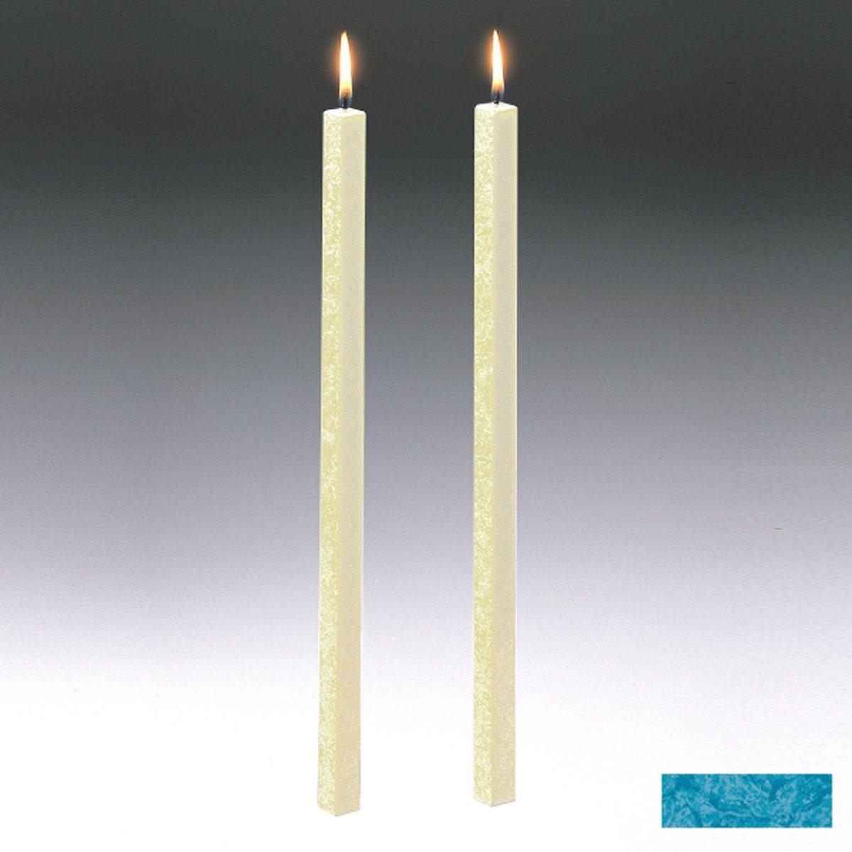 Amabiente Amabiente Kerze CLASSIC Türkis 40cm - 2er Set
