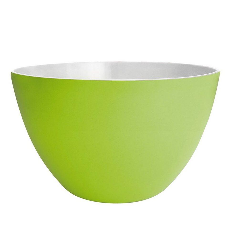 ZAK designs Zak designs Schüssel DUO 28cm grün-weiß in grün, weiß