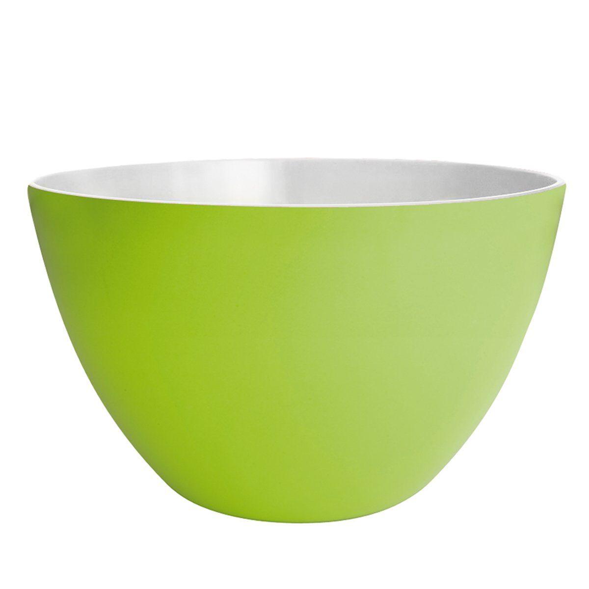 ZAK designs Zak designs Schüssel DUO 28cm grün-weiß