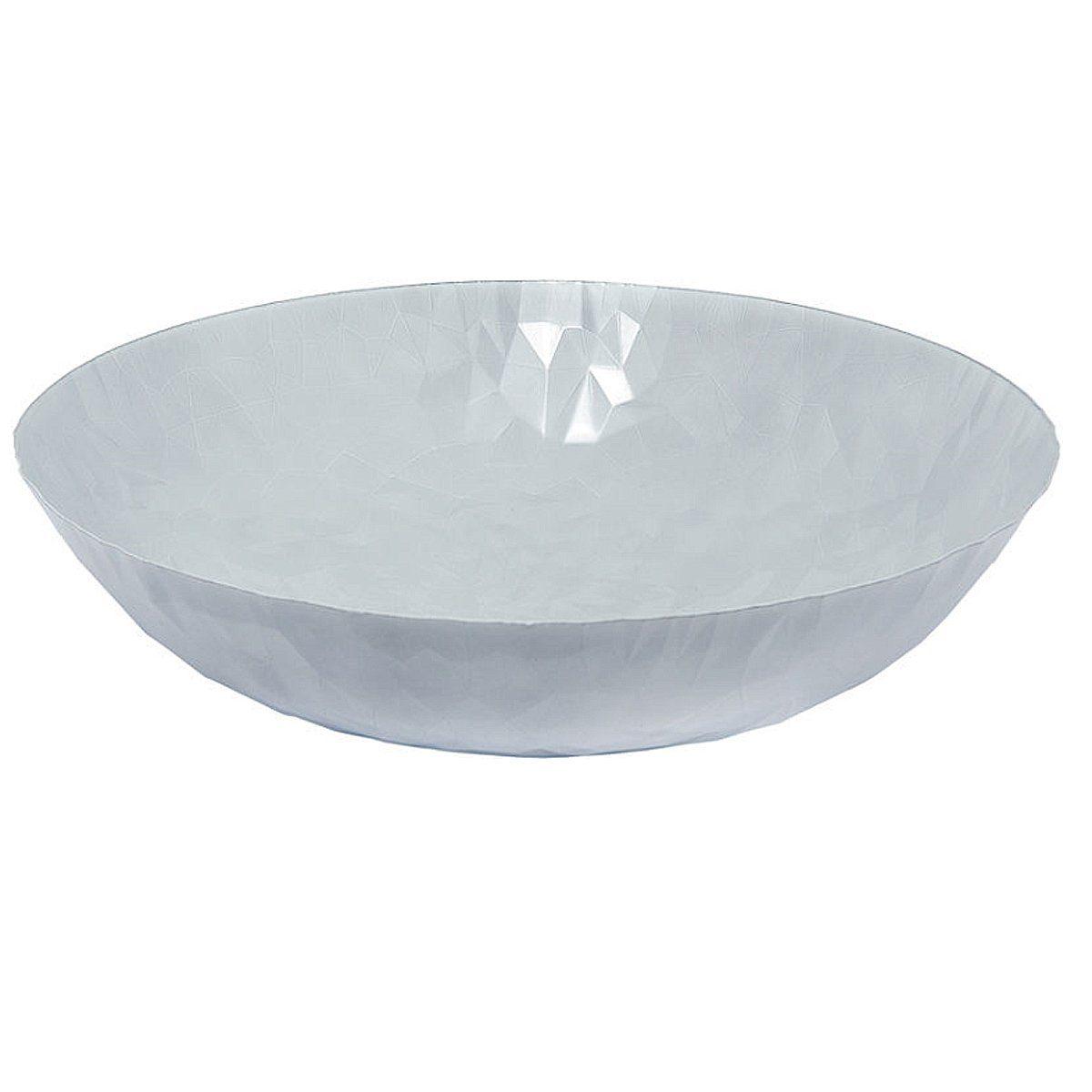 Alessi Alessi Schale Joy n.1, Centrotavola 37 cm, weiß matt