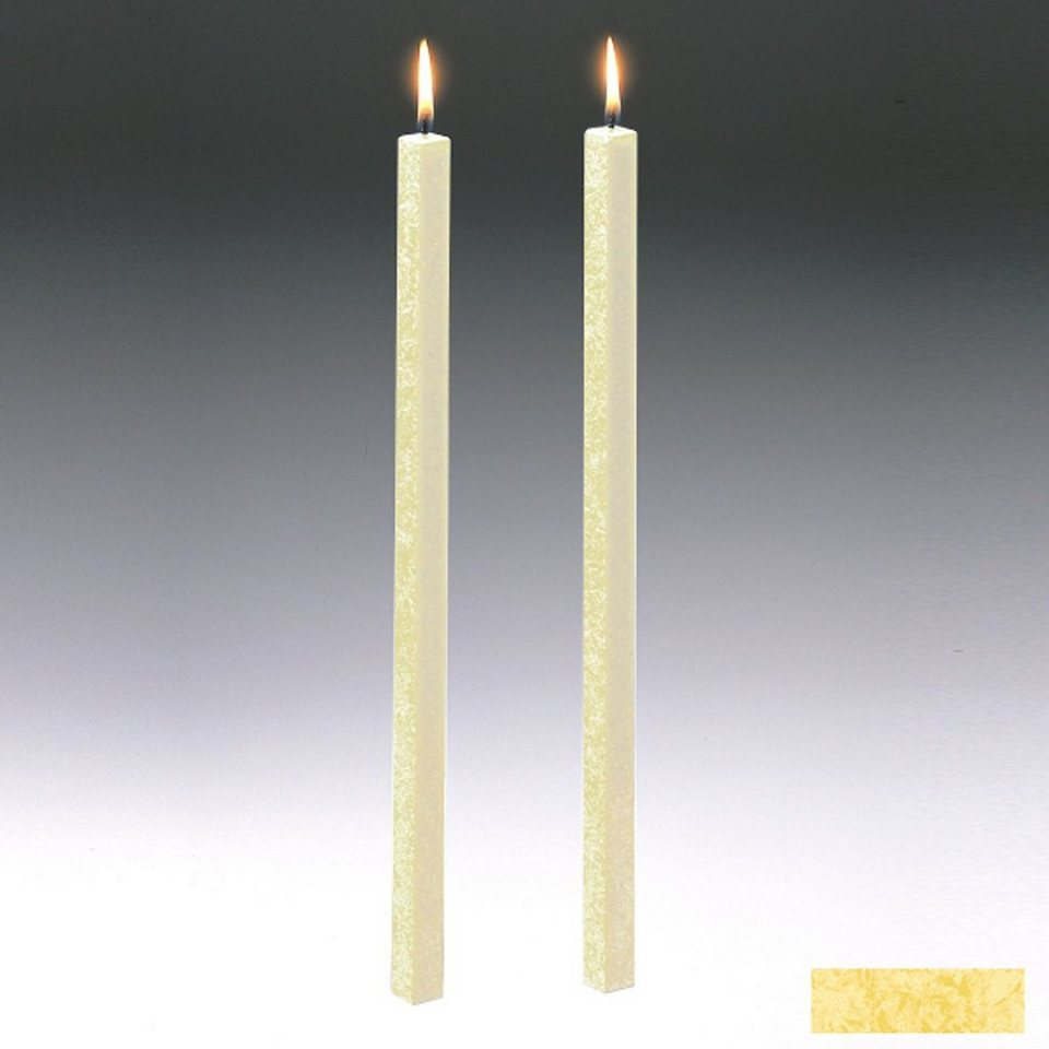 Amabiente Amabiente Kerze CLASSIC Vanille 40cm - 2er Set in vanille