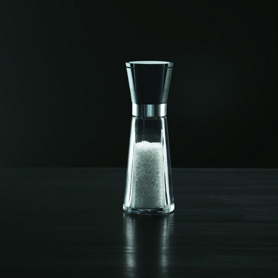 ROSENDAHL ROSENDAHL Grand Cru Salzmühle 20 cm in Schwarz, silber, tra