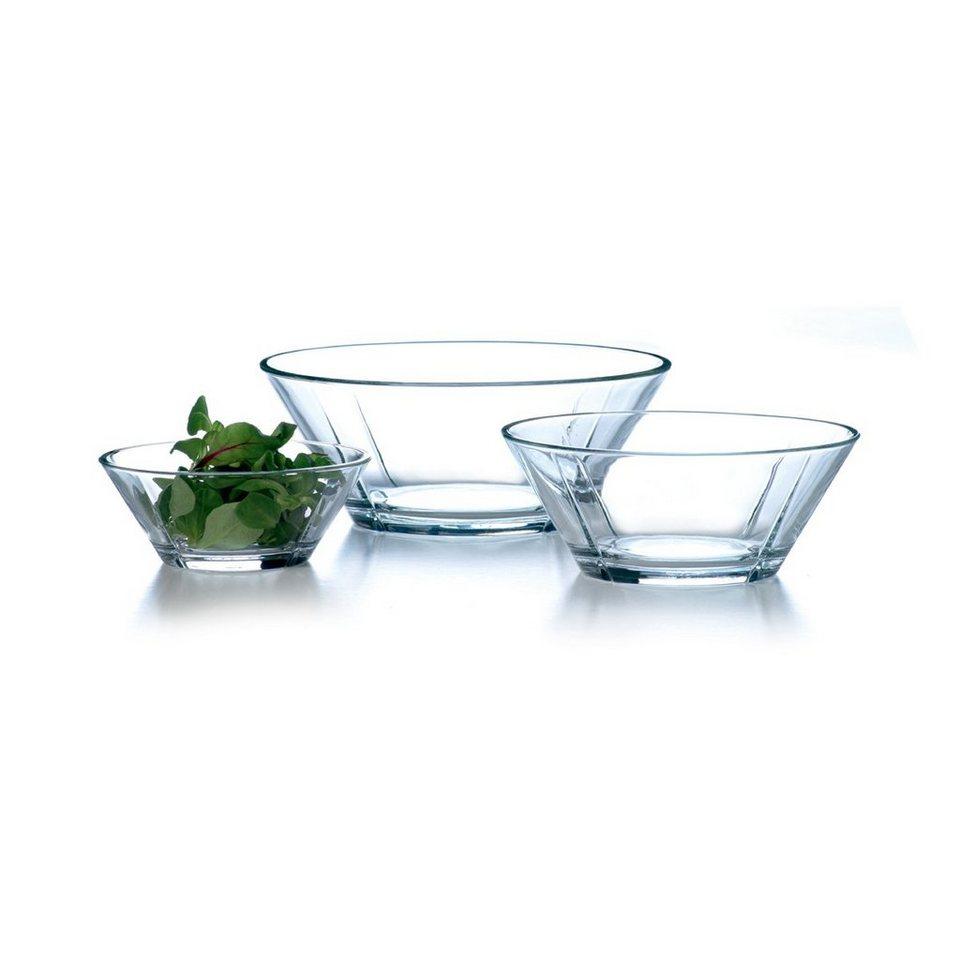 Rosendahl ROSENDAHL Grand Cru Glasschalen 3er Set in Transparent