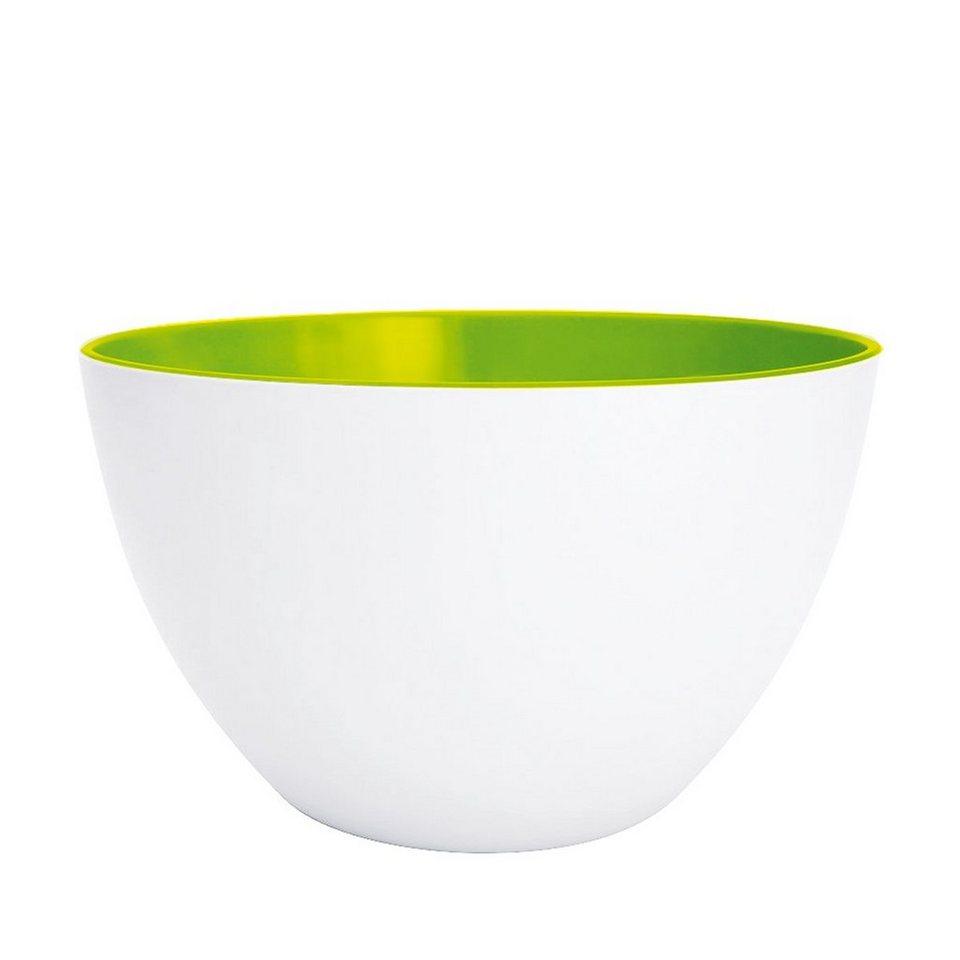 ZAK designs Zak designs Schüssel DUO 22cm weiß-grün in weiß, grün