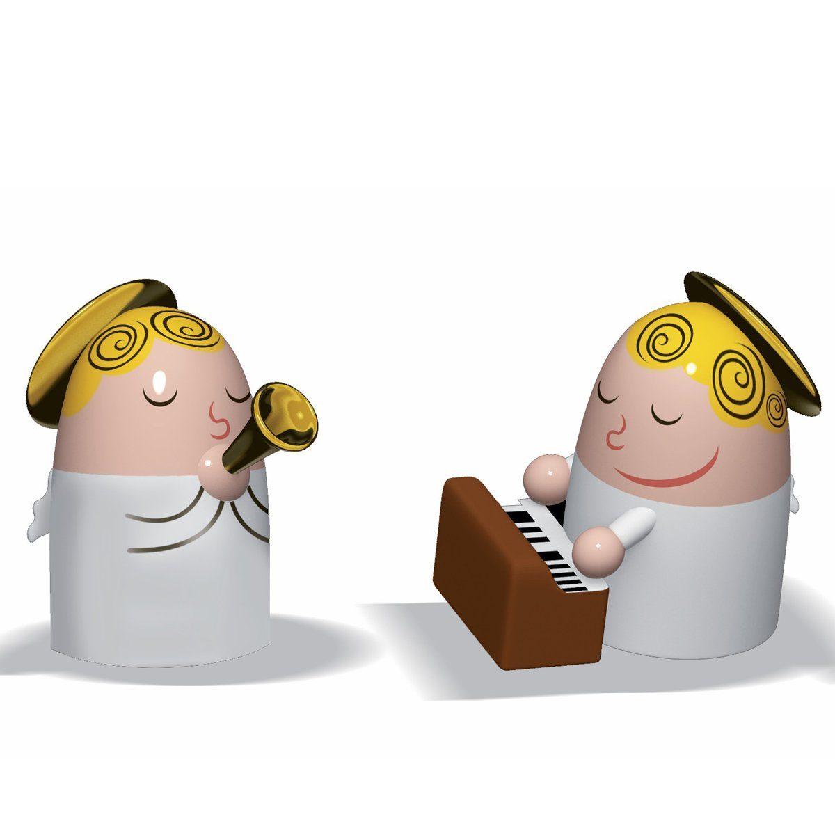 Alessi Alessi Figur ANGELS BAND Klavier und Saxophon - 2er Set