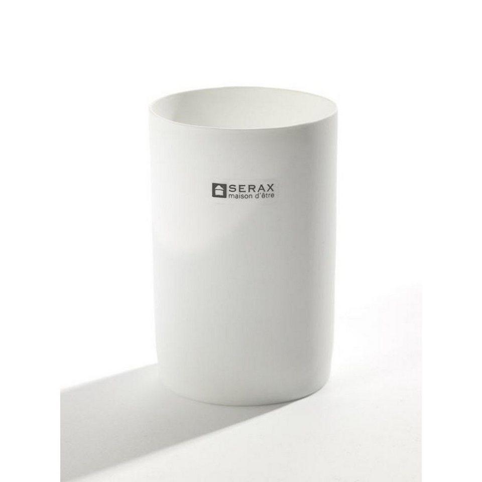 Serax Serax Teelichthalter Porzelan fein Standard in weißlich
