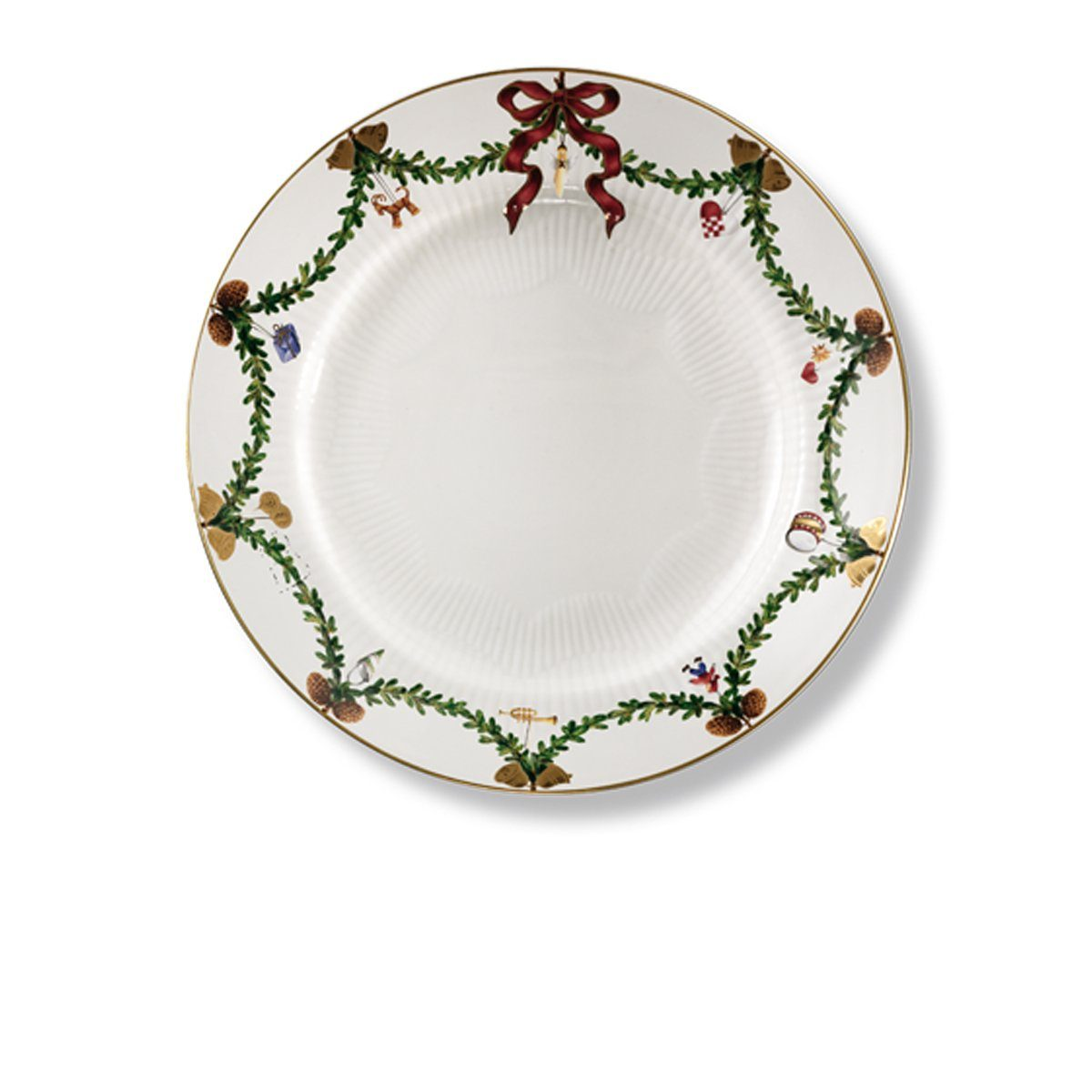 ROYAL COPENHAGEN ROYAL COPENHAGEN Teller, flach Star Fluted Christmas 27 cm