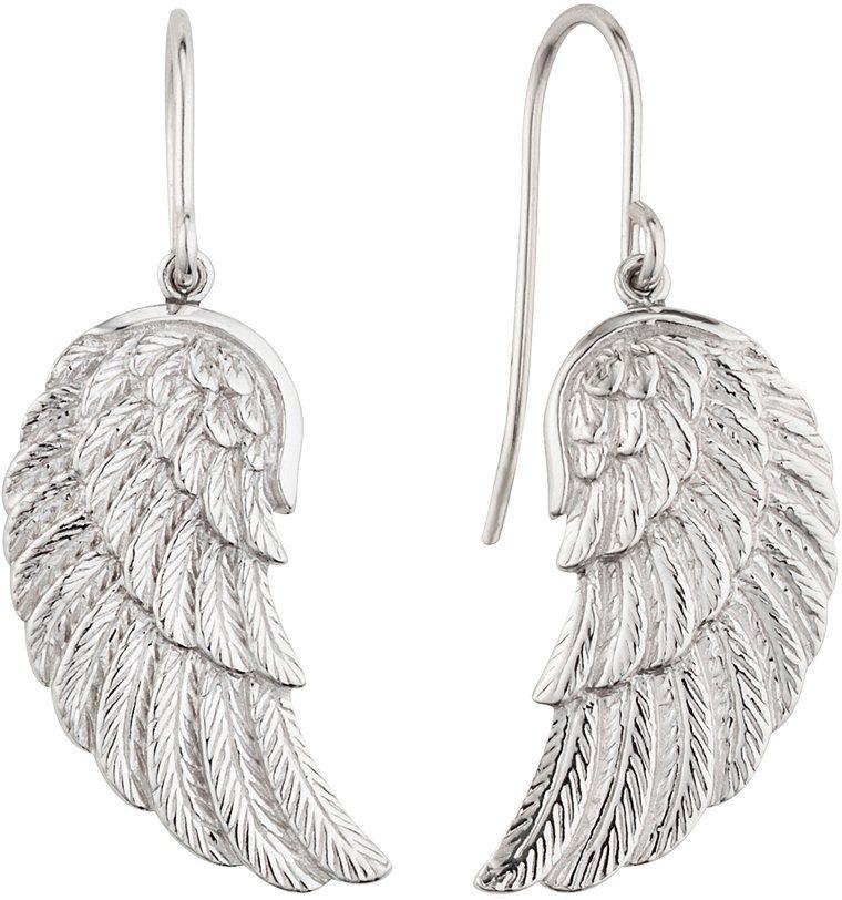 Engelsrufer Paar Ohrhaken, »Flügel, ERE-WING« in Silber 925