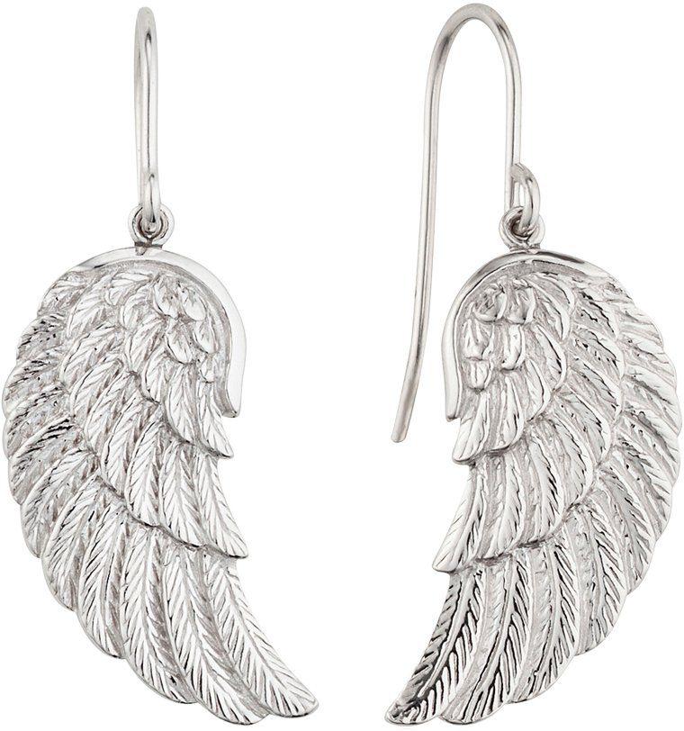 Engelsrufer Paar Ohrhaken, »Flügel, ERE-WING«