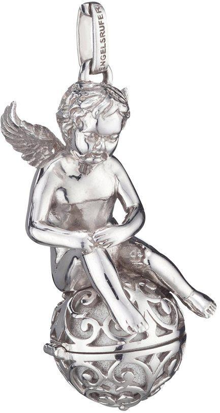 Engelsrufer Engelanhänger »Where the angels fly, ENGEL AUF ENGELSRUFER, ERP-ANGEL-XL« (Set, 2 tlg., inkl. Klangkugel)