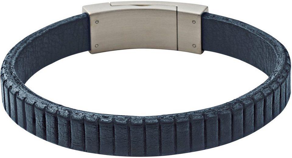 Skagen Armband, »Vinther, SKJM0100040« in blau-silberfarben