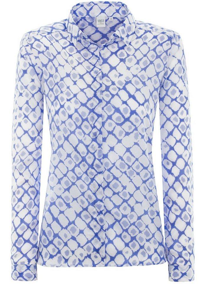 ETERNA 1/1-Arm Bluse »MODERN FIT« in hellblau