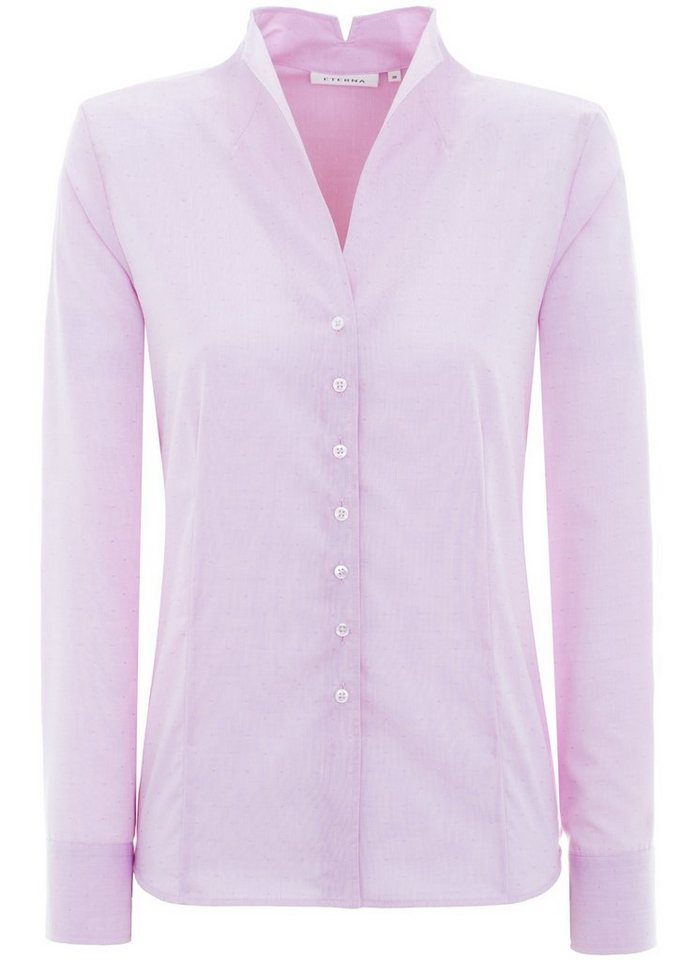 ETERNA 1/1-Arm Bluse »COMFORT FIT« in rosa/taupe