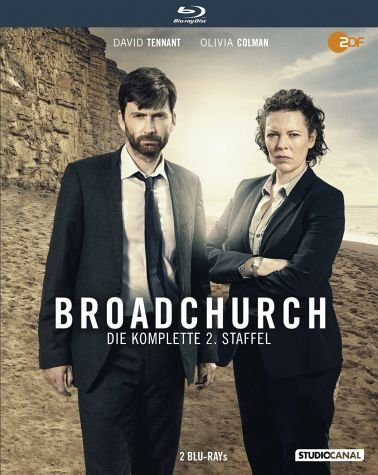 Blu-ray »Broadchurch - Die komplette 2. Staffel (2 Discs)«
