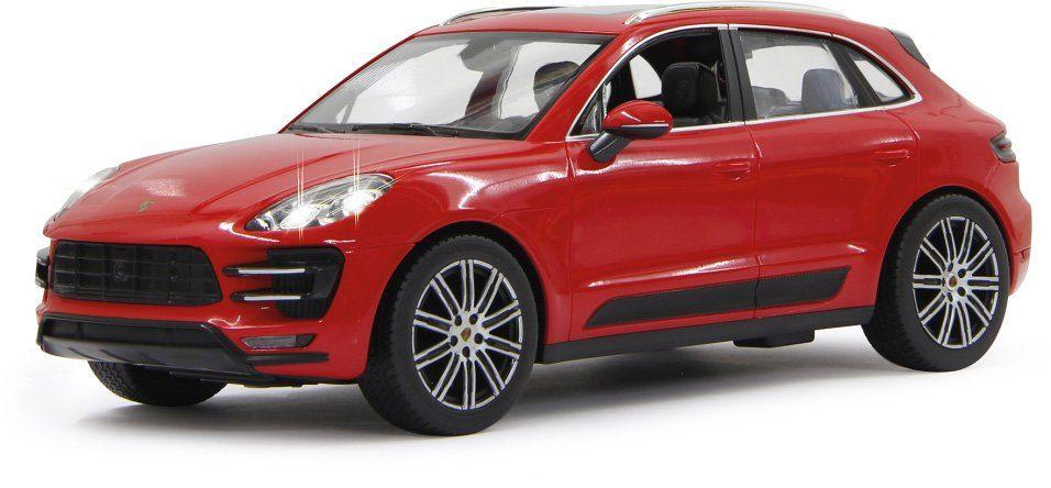 JAMARA RC Fahrzeug mit Licht, »Porsche Macan 40 MHz 1:14 rot«