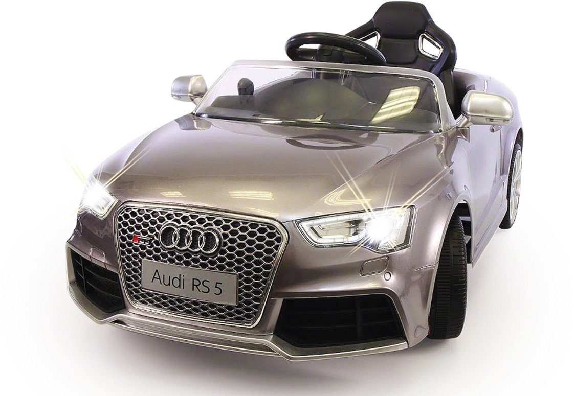 JAMARA Elektrofahrzeug für Kinder, »JAMARA KIDS Ride On Audi RS5 silber metallic 12V«