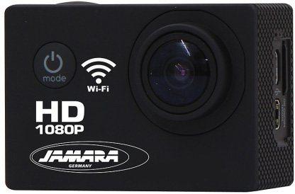 JAMARA Action Cam, »Camera Full HD Pro Wifi 2,4 GHz schwarz« in schwarz