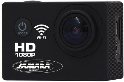 JAMARA Action Cam, »Camera Full HD Pro Wifi 2,4 GHz schwarz«