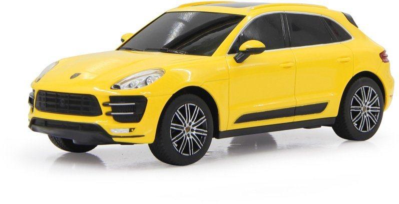 JAMARA RC Fahrzeug, »Porsche Macan Turbo 27MHz 1:24 gelb« in gelb