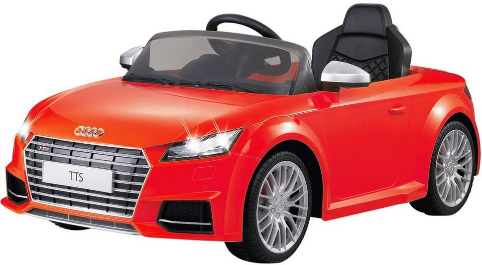 JAMARA Elektrofahrzeug für Kinder, »JAMARA KIDS Ride On Audi TTS Roadster rot 6V« in rot
