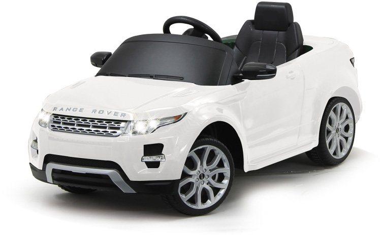 JAMARA Elektrofahrzeug für Kinder, »JAMARA KIDS Ride On Landrover Evoque weiß 6V« in weiß