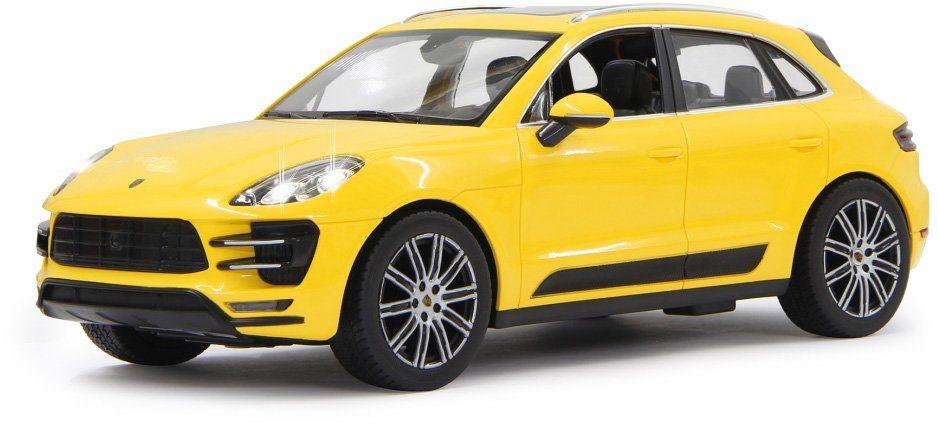 JAMARA RC Fahrzeug, »Porsche Macan 27MHz 1:14 gelb«