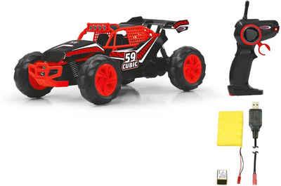 Jamara RC-Monstertruck »Cubic Desert Buggy 2,4 GHz 1:14 rot/schwarz«