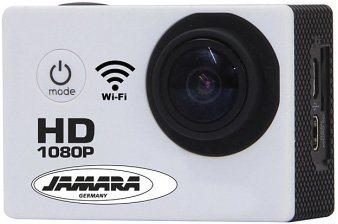 JAMARA Action Cam, »Camera Full HD Pro Wifi 2,4GHz weiß« in weiß