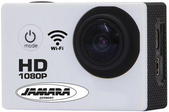 JAMARA Action Cam, »Camera Full HD Pro Wifi 2,4GHz weiß«