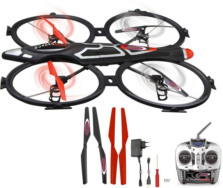 jamara quadrocopter mit kamera quadrodrom 2 4ghz schwarz online kaufen otto. Black Bedroom Furniture Sets. Home Design Ideas