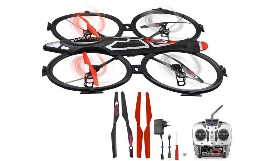 JAMARA Quadrocopter mit Kamera, »Quadrodrom 2,4GHz schwarz«