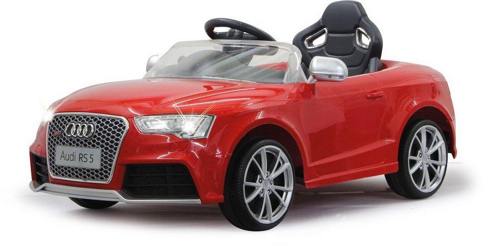 JAMARA Elektrofahrzeug für Kinder, »JAMARA KIDS Ride On Audi RS5 rot 12V« in rot