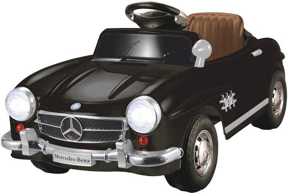 JAMARA Elektrofahrzeug für Kinder, »JAMARA KIDS Ride On Mercedes 300SL schwarz 6V« in schwarz