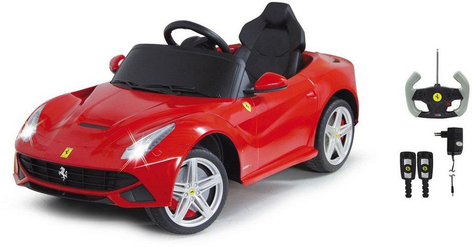 JAMARA Elektrofahrzeug für Kinder, »JAMARA Kids Ride On Ferrari F12 Berlinetta rot 6V« in rot