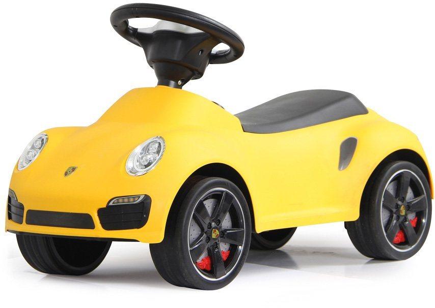 JAMARA Rutscherfahrzeug, »JAMARA KIDS Porsche 911 gelb« in gelb
