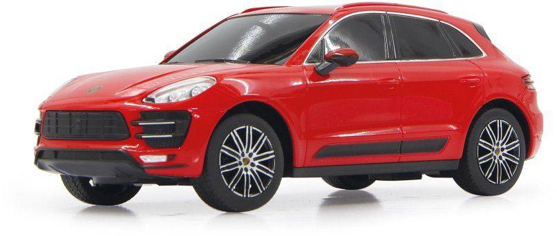 JAMARA RC Fahrzeug, »Porsche Macan Turbo 40MHz 1:24 rot«