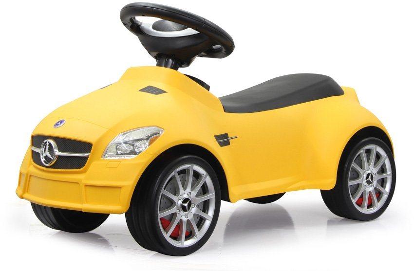 JAMARA Rutscherfahrzeug, »JAMARA KIDS Mercedes SLK55 AMG gelb« in gelb